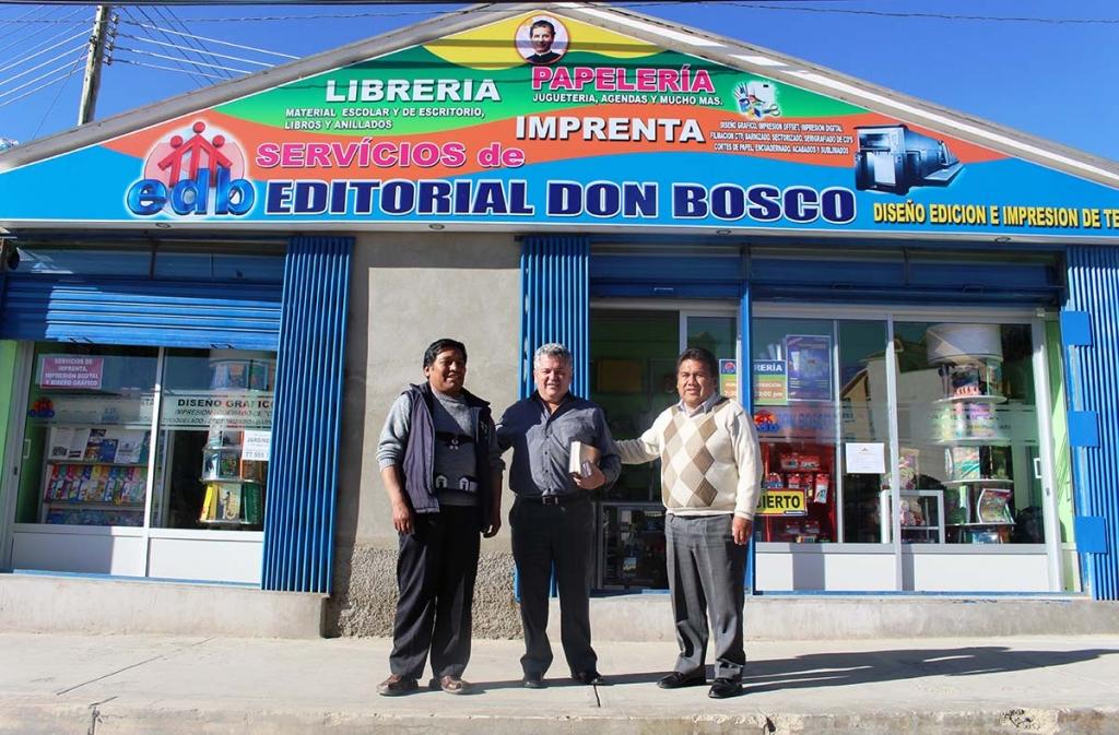 Bolivia editorial don bosco rafforzare la cultura for Casa piano sucursales