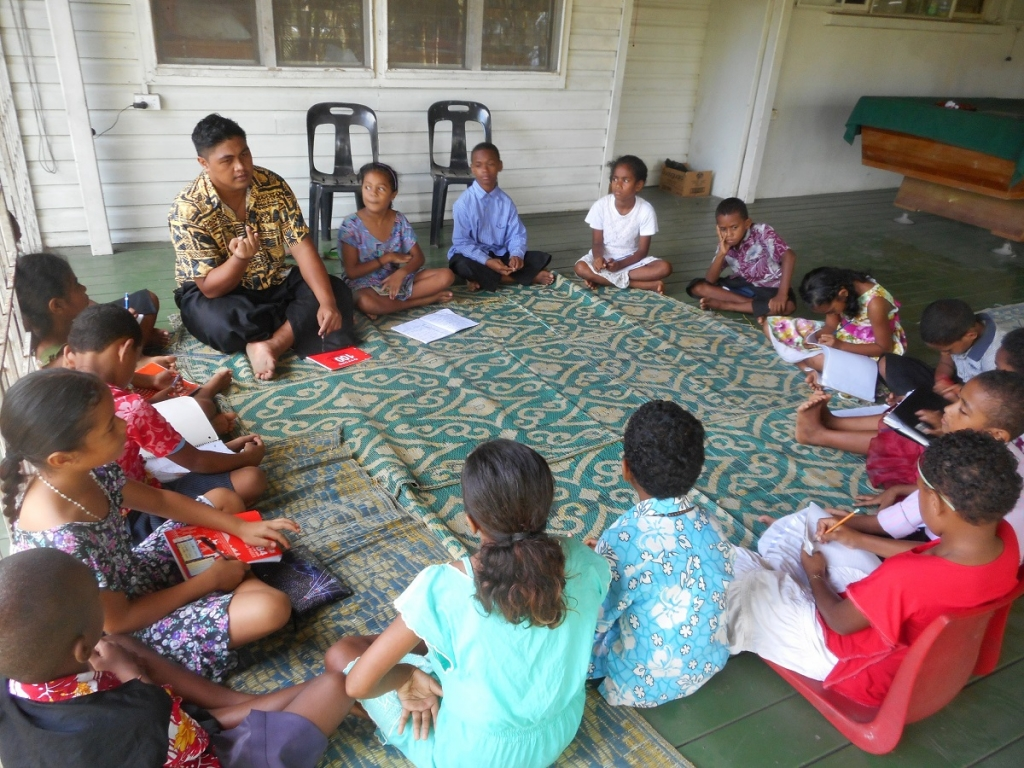 Fiji Islands - Catechesis meetings for young people and children