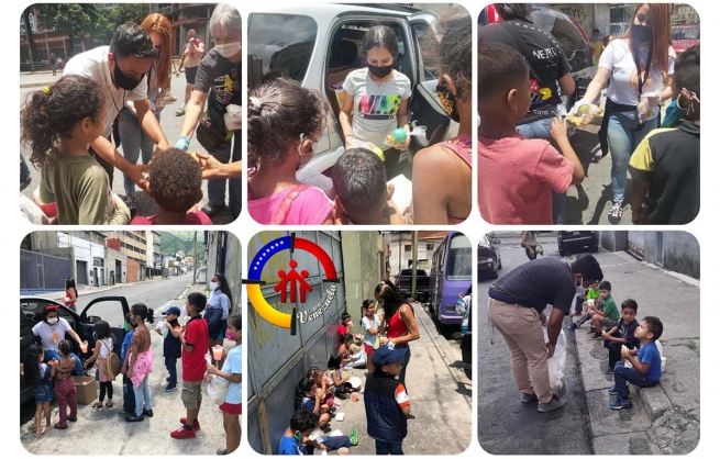 Venezuela - Members of Salesian Family and benefactors united for children of Caracas