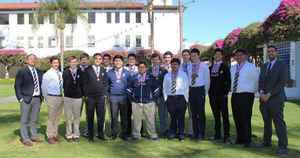 "United States - 1st place in Academic Decathlon for Salesian Institute ""St. John Bosco High School"""