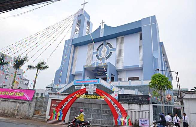 Vietnam – Consecration of new Church dedicated to Don Bosco