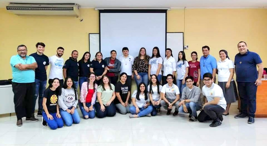 Paraguay - Expanded meeting of Salesian Youth Movement