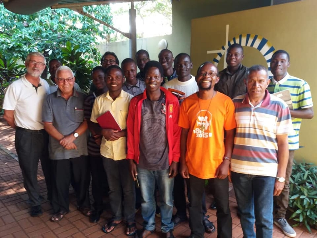 Mozambique - Meeting of Salesian Brothers