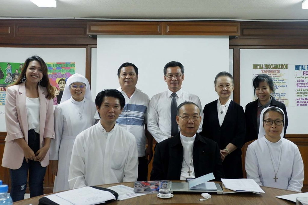 Thailand - Meeting of Thai Salesian Bulletin Team