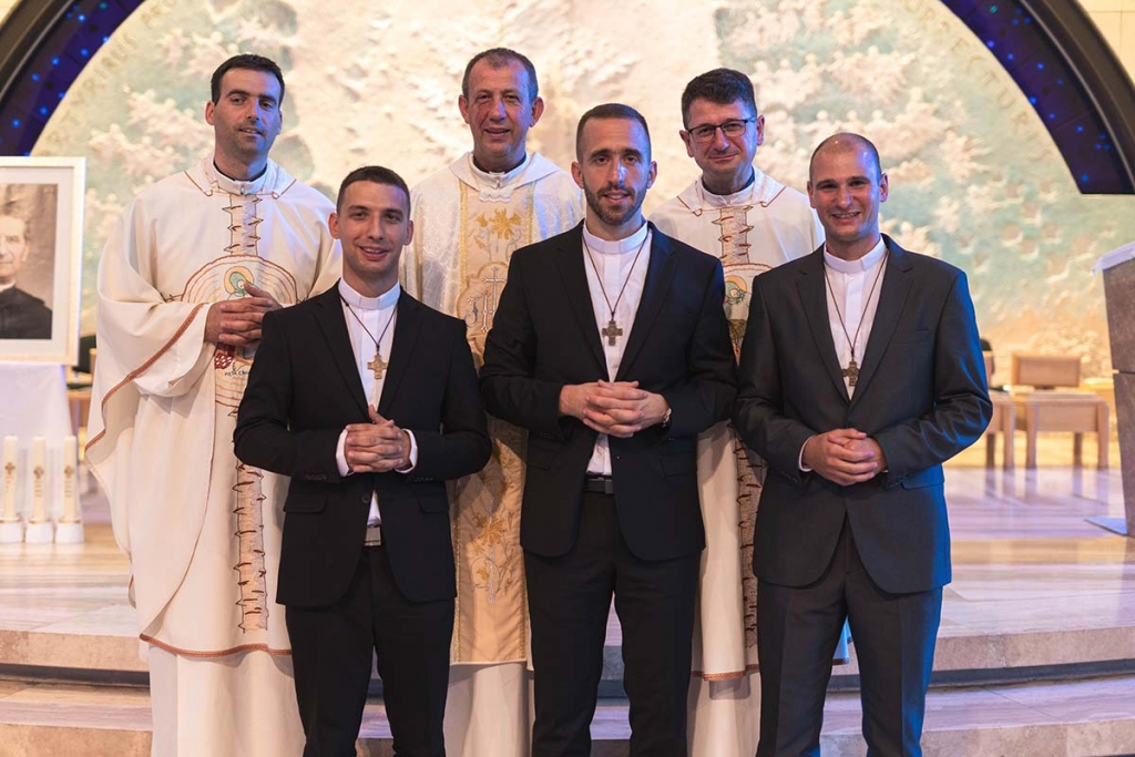 Croatia - Perpetual Profession of three Salesians