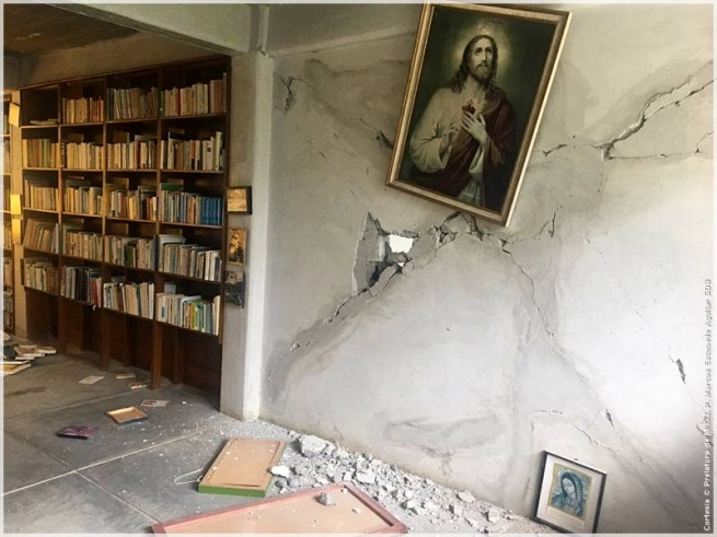 Mexico - A new, violent earthquake shakes Mexico: Salesians begin to organize relief