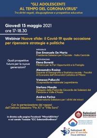 """Italia – """"Nuove sfide: il Covid-19 quale occasione per ripensare strategie e politiche"""""""
