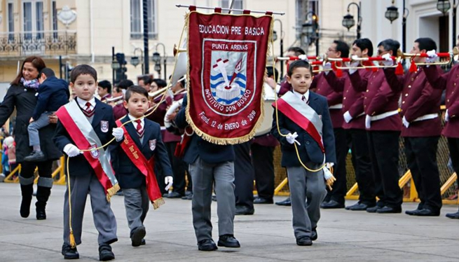 Chile - Over 5,000 friends from Salesian Center march to celebrate 130th anniversary of its Chilean presence