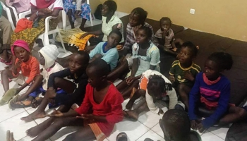 Sierra Leone - Sierra Leone children welcomed after natural disasters