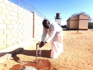 """Namibia – St. John Bosco Parish has clean water access thanks to the Salesian Missions """"Clean Water Initiative"""""""