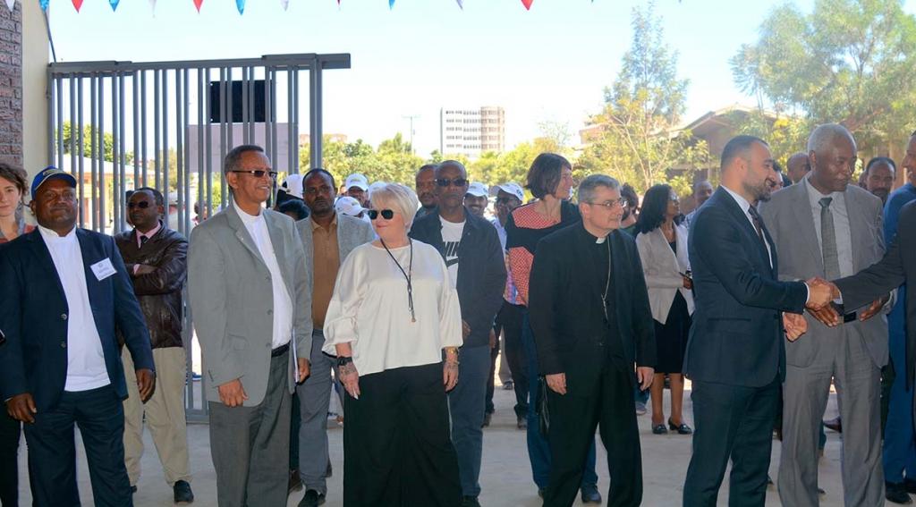 Ethiopia - Inauguration of new workshops of