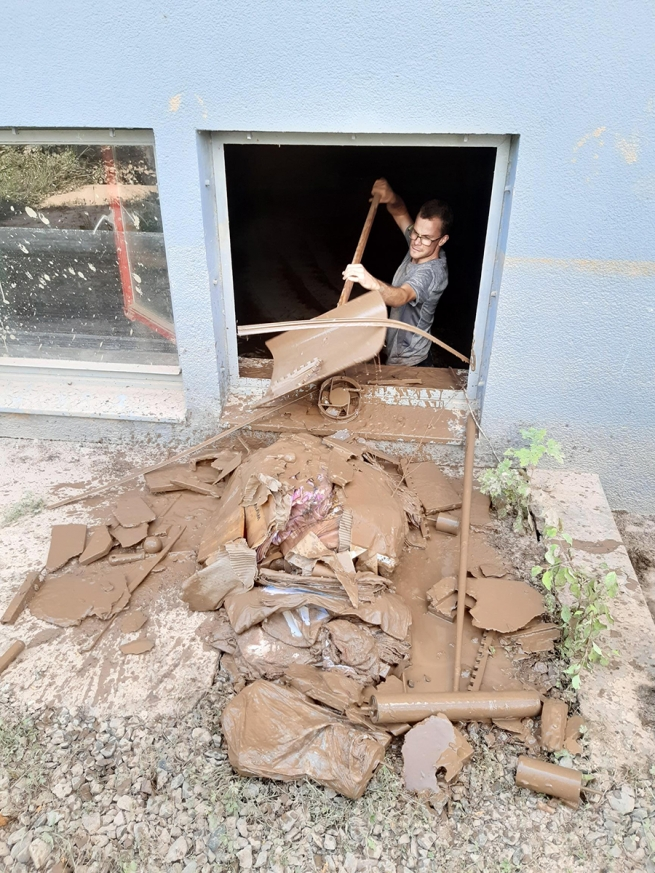Germany - Aid from Salesians after dramatic floods