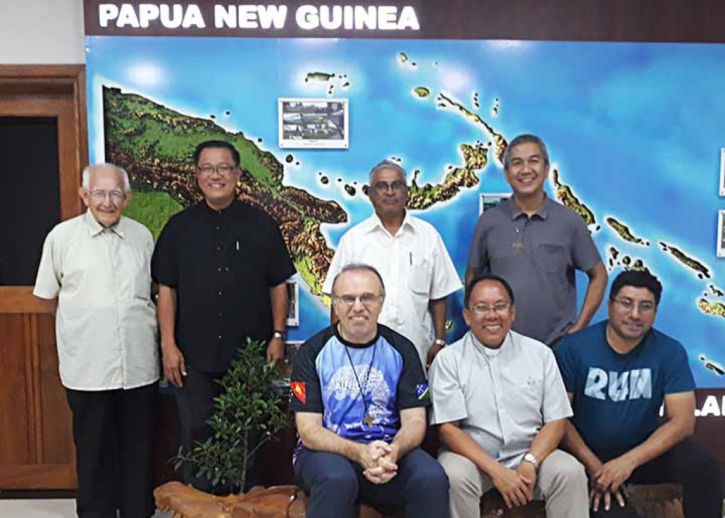 Papua New Guinea - Animation visit of Regional Councilor for East Asia-Oceania