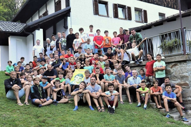 "Slovenia - ""Savio Kamp"": a camp for altar boys"