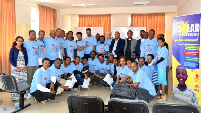"Ethiopia – ""13 months of Solar Power"". A new venture for Salesians"