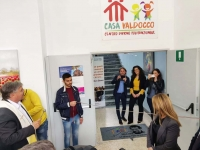 "Italy –  Volunteer work, workshops and sports… ""Casa Valdocco"" Day Center starts up again"