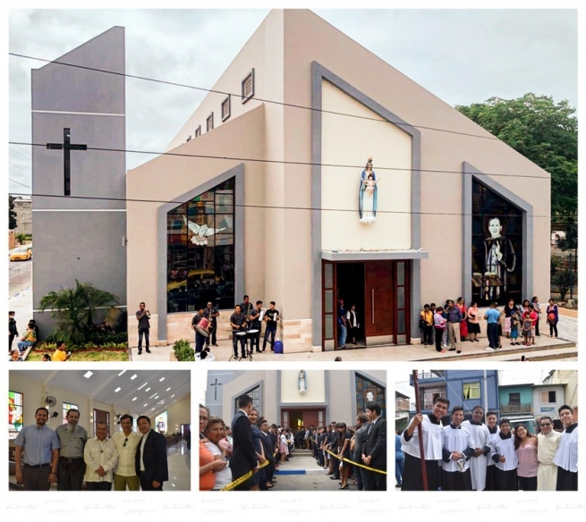 "Ecuador - Consecration of new parish temple ""Our Lady of the Rosary"""
