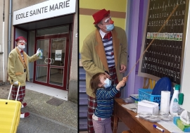 "France – Salesian pedagogy: what happens when ""Papi, the clown"" arrives at school?"