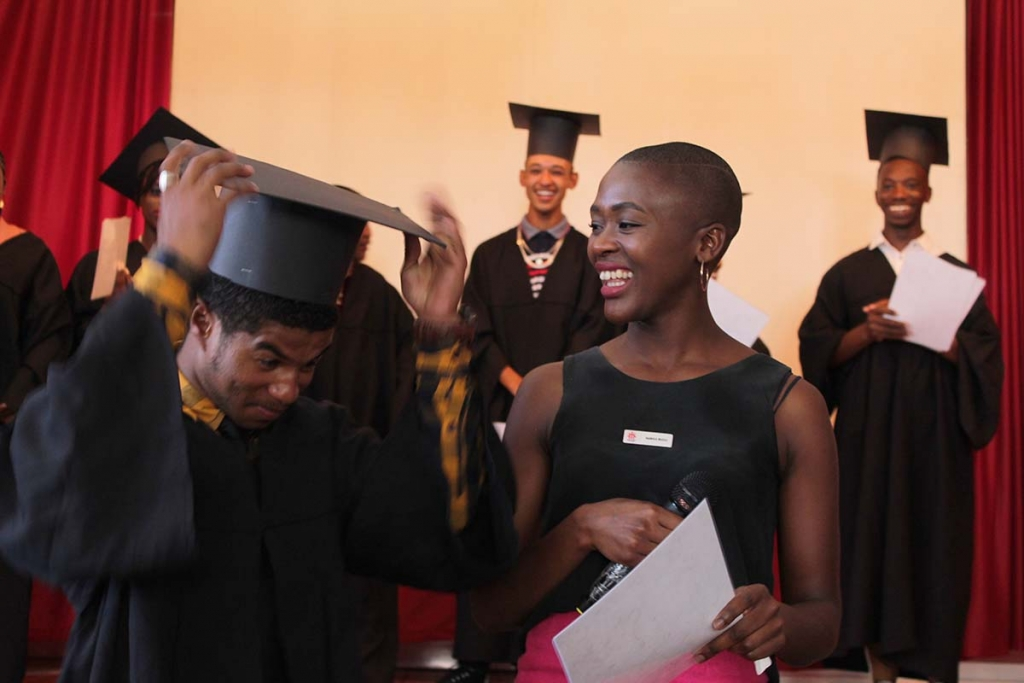 South Africa - 50 students receive diploma