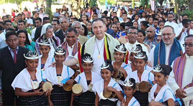 "East Timor – Rector Major: ""The important way of living in Salesian life and mission"""