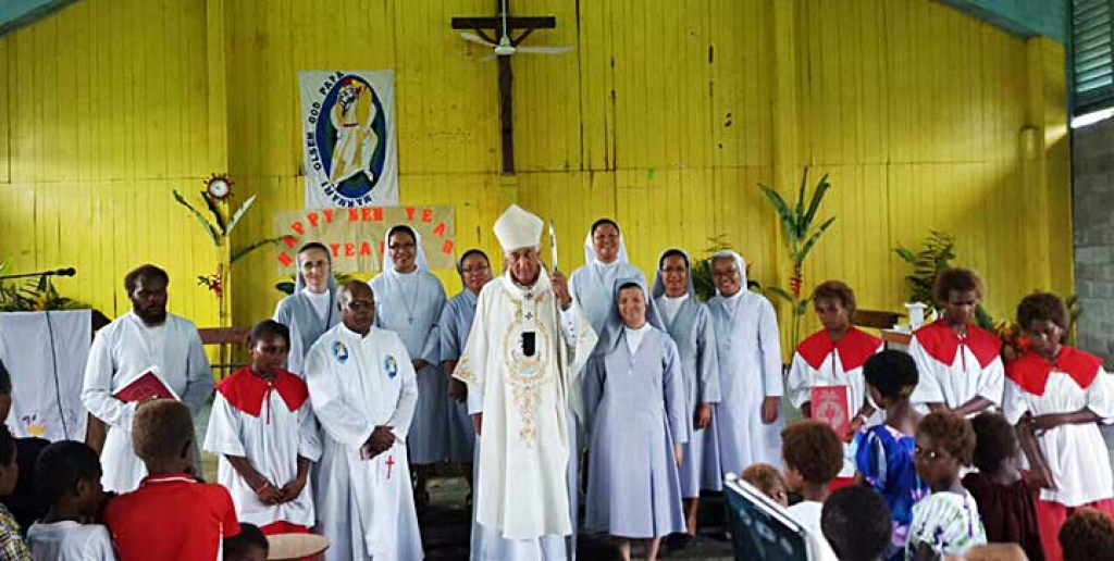 Papua New Guinea - new FMA community inaugurated and blessed