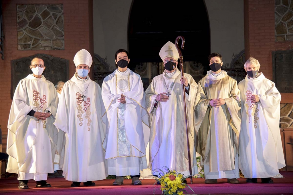 Uruguay - Cardinal Sturla ordains two Salesians as priests