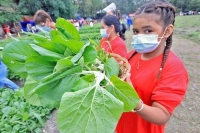 Philippines – Transforming soccer field into vegetable farm
