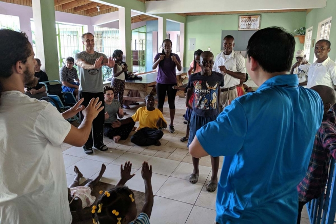 Haiti – Don Bosco Prep Students Assist Missionaries of the Poor in Mission Trip