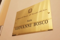 Italy - Ministry of Education names room after Don Bosco
