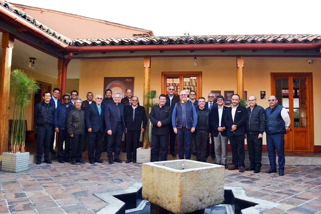 Colombia - Visit of  the Vicar of the Rector Major