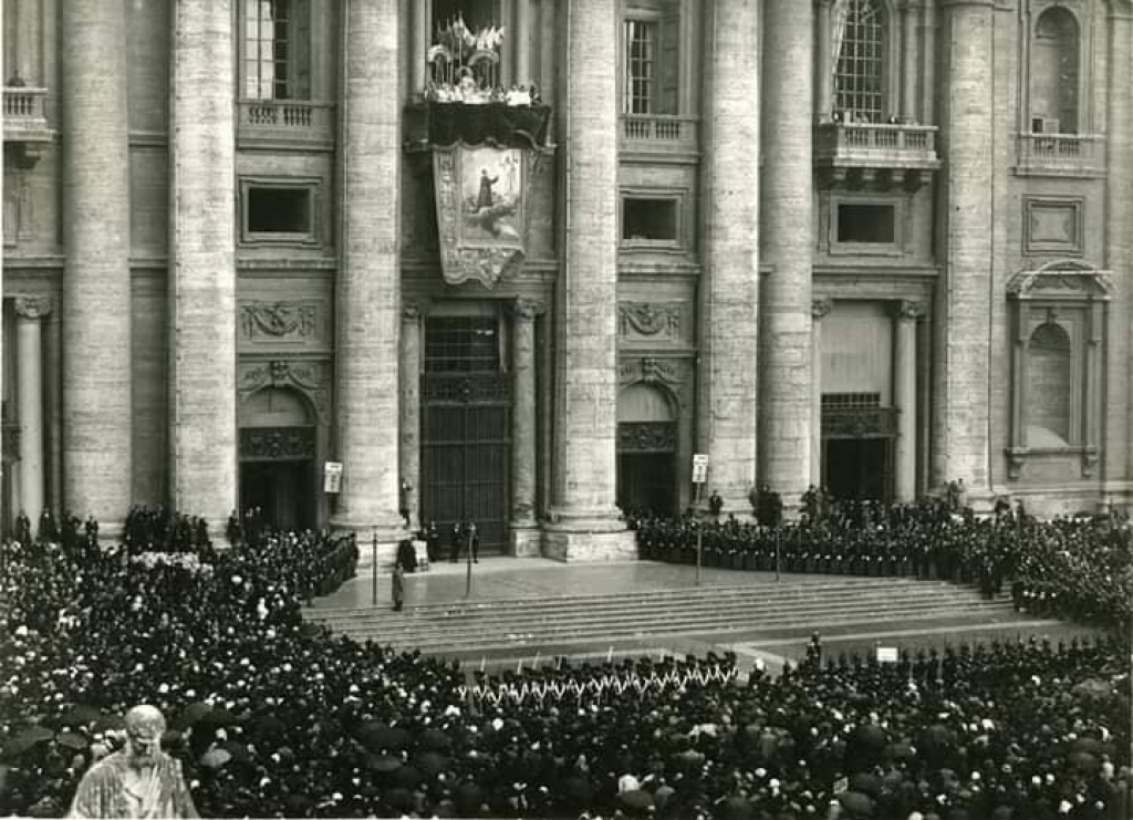 Italy - April 1: remembrance of Don Bosco's canonization