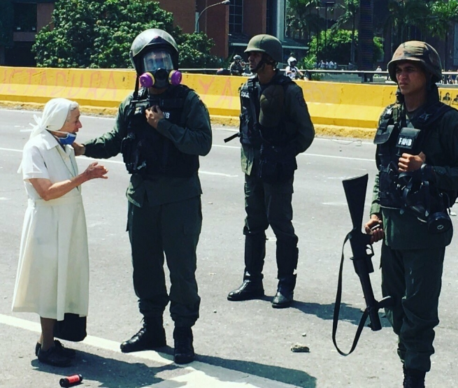 "Venezuela - A Daughter of Mary Help of Christians: ""If you are Venezuelans, we are Venezuelans"""