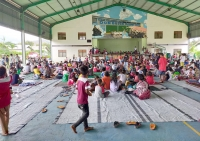 East Timor – Easter Celebration in midst of a natural disaster