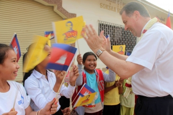 The Rector Major's visit to Cambodia