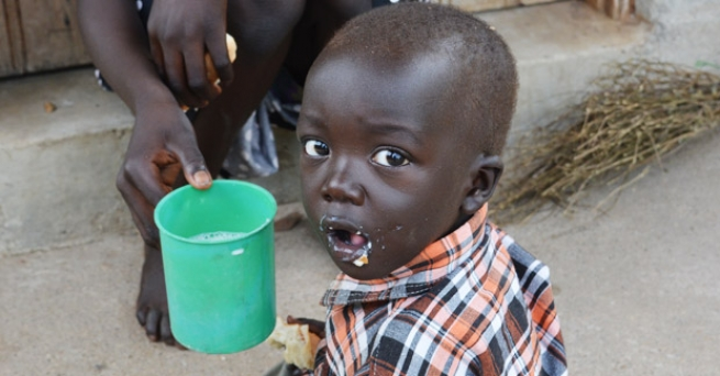 South Sudan - The Salesian mission at Gumbo takes care of hundreds of malnourished minors