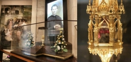 RMG - Don Bosco relic on its way home