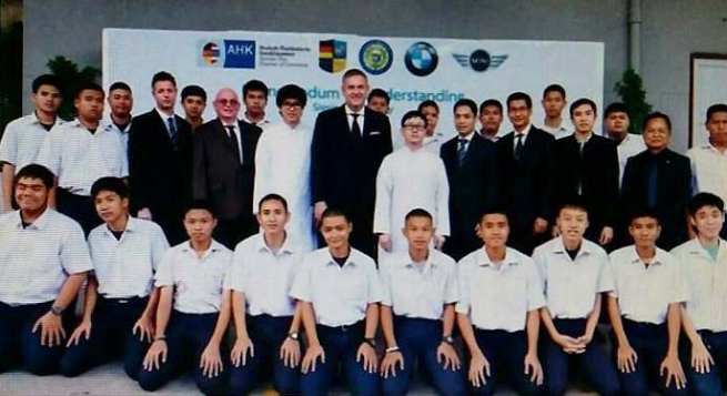 Thailand – Agreement between BMW and Bangkok Don Bosco Technical College