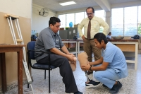 El Salvador – Jairo Alemán fulfills dream of having prosthesis and continuing to work