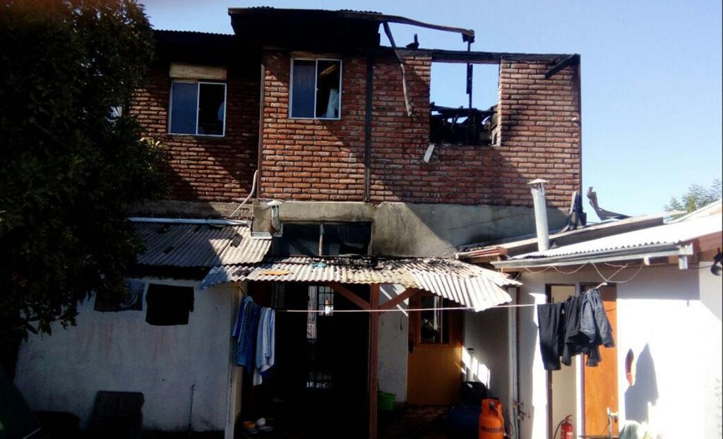 """cile – la casa d'accoglienza """"miguel magone"""" vittima di un incendio"""
