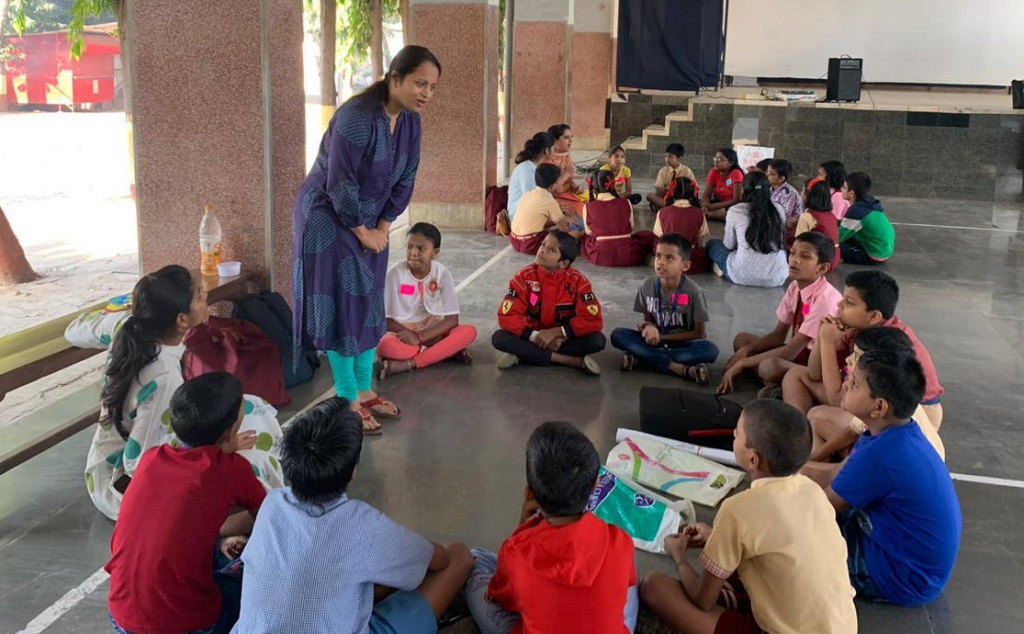 India - Helping children manage difficult emotions