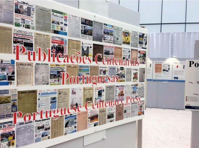 Belgium - Salesian Bulletin of Portugal also at EU Parliament exhibition of Centenary Magazines