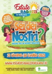 """Vatican – """"Youth Summer Camp in Vatican"""". Ready for a new edition"""