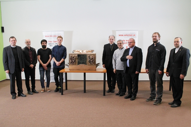 Slovakia - Reliquary for Titus Zeman's beatification ready