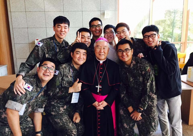 South Korea – Vocations journey also in military service