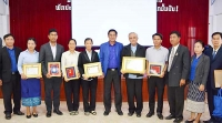 Laos – Certificati e medaglie d'onore per gli esponenti della Famiglia Salesiana