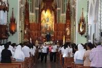 Photo: celebration of the feast of the blessed Sr. Maria Romero Meneses, FMA
