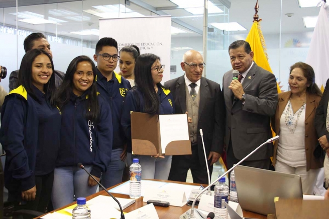 Ecuador – Salesian Polytechnic University awarded for its humanitarian efforts during national strike
