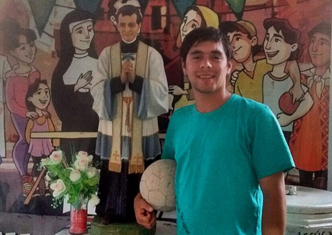 Argentina - Five-a-side soccer for Leito, SDB: a passion that continues as a Salesian