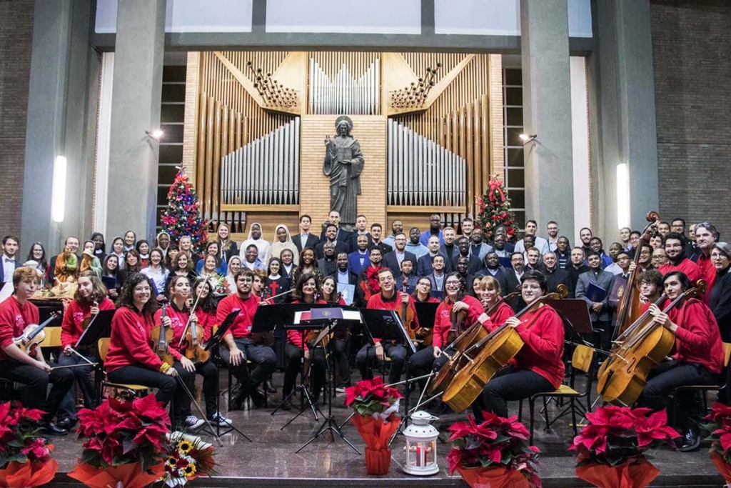 Italy - Christmas concert at Salesian Pontifical University