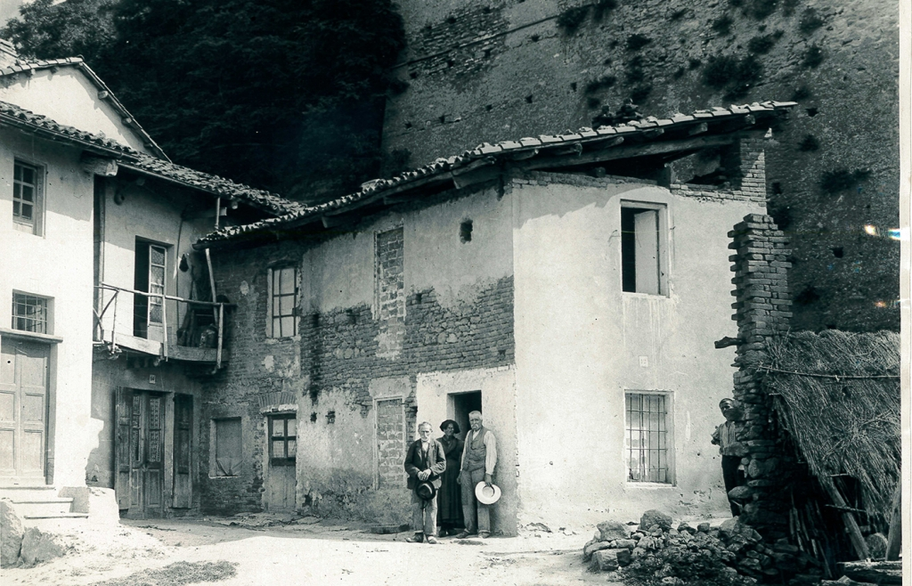 Italie - Photo de la maison de Dominique Savio